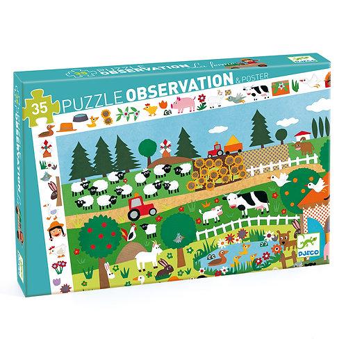 Puzzle observation : La Ferme