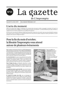 Gazette n°13
