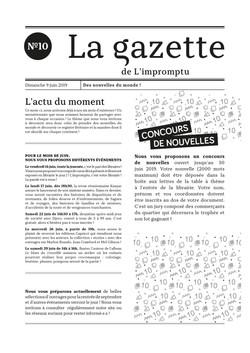 Gazette n°10