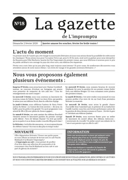 Gazette n°18