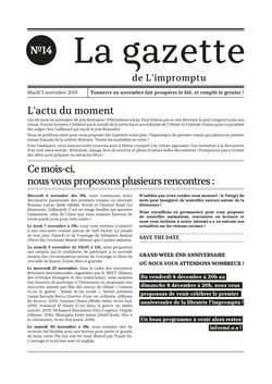 Gazette n°14