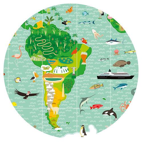 Puzzle observation : Tour du monde [200 pièces]