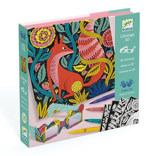 Coloriage 3D : animaux