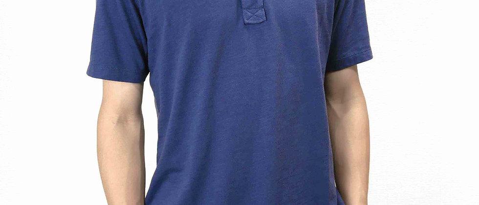 半袖ポロシャツ 無地 ブルー系