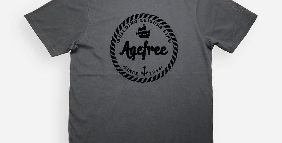 半袖グラフィックTシャツAGE FREE