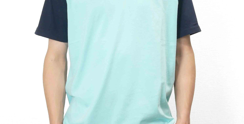 半袖無地Tシャツ 切替