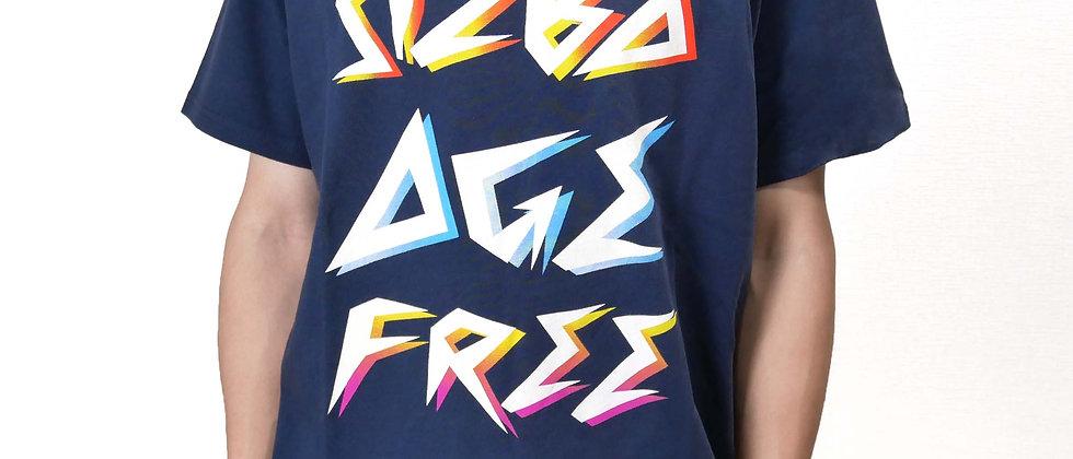 [数量限定]半袖グラフィックTシャツAge Free