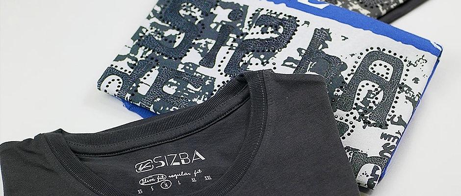 半袖 グラフィックTシャツ Sizba Design 二点セット