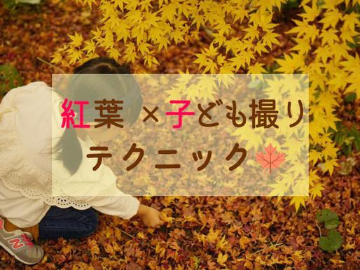 「紅葉×子ども撮り」テクニック🍁
