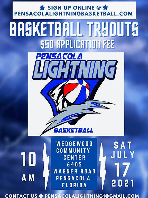 2021 Pensacola Lightning Registration Fee