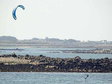Kitesurf Foil pour naviguer l'été