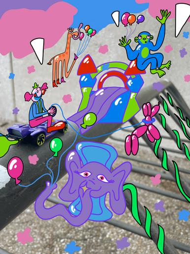 balloon animal jungle