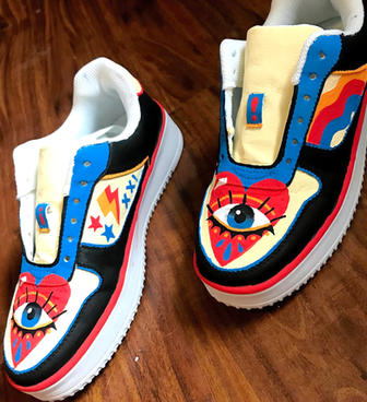 shoes I painted