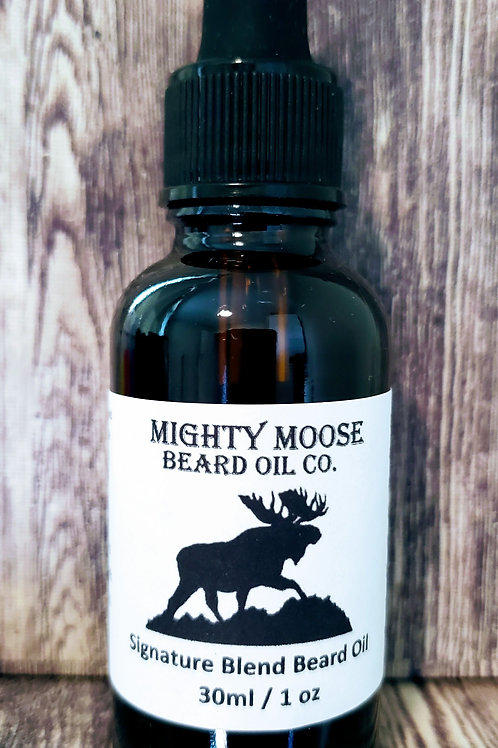 Signature Blend Beard Oil  - 30ml (1oz)