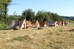 Camp installation BC 2019