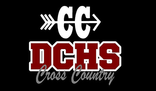 DCHS Cross Country Car Decal