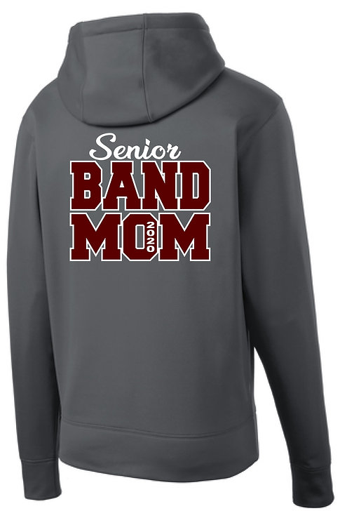 Dowling Senior Band Mom Full Zip Hoodie