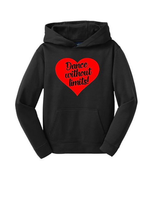 DWOL Performance Hoodie  youth sizes