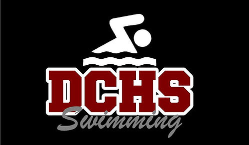 DCHS Swimming Car Decal