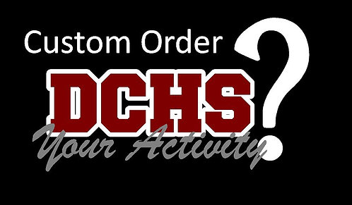 DCHS CreateYour Own Car Decal