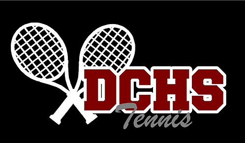 DCHS Tennis Car Decal
