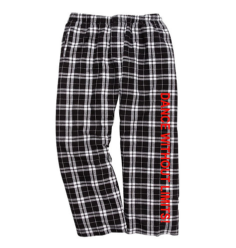 DWOL Flannel Pants youth and adult