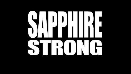 ADULT--SAPPHIRE STRONG TShirt     (SGA)