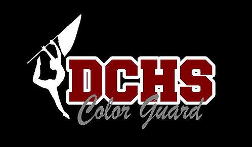 DCHS Color Guard Car Decal