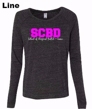 SCBD Ladie fashion pullover tee