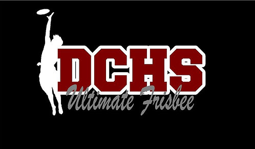 DCHS Ultimate Frisbee Car Decal