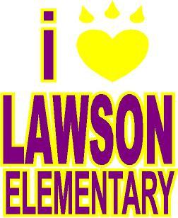 Lawson Elem. Car Decal