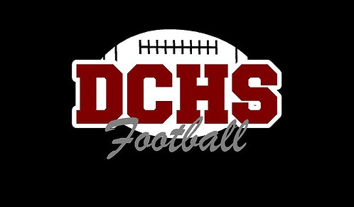 DCHS Football Car Decal
