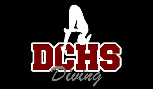 DCHS Diving Decal