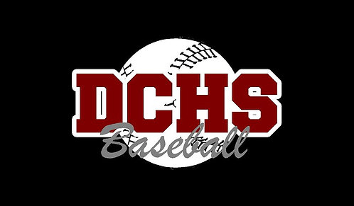 DCHS Baseball Car Decal
