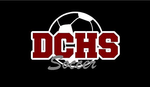 DCHS Soccer Decal