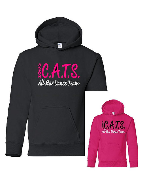 C.A.T.S. Hoodie in adult and youth sizes