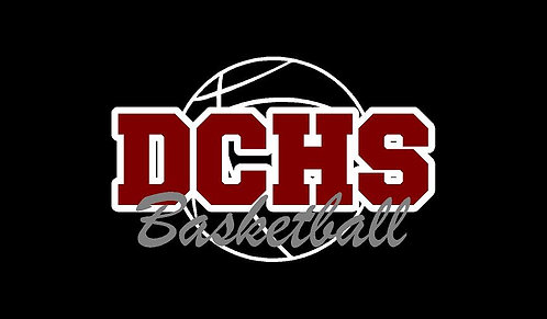 DCHS Basketball Car Decal