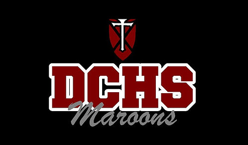 DCHS Maroons Car Decal
