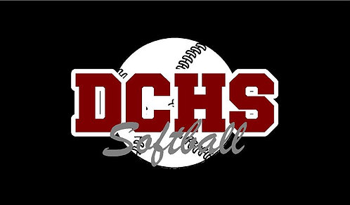DCHS Softball Car Decal