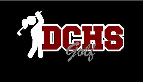 DCHS Women's Golf Car Decal