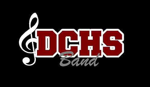 DCHS Band Car Decal