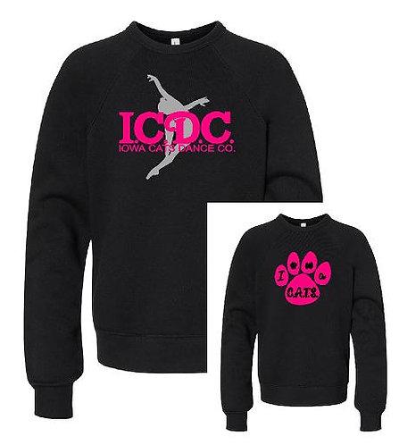 ICDC or CATS Soft and Cozy fleece sweatshirt