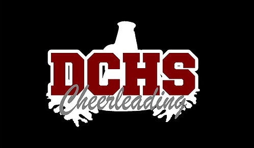 DCHS Cheerleading Car Decal