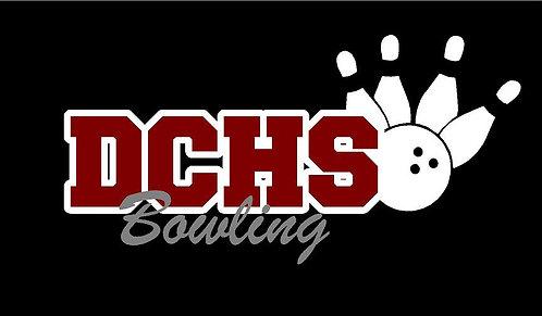 DCHS Bowling Car Decal