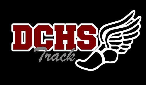 DCHS Track Car Decal