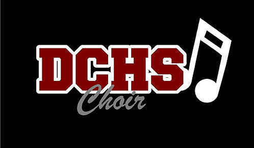 DCHS Choir Decal