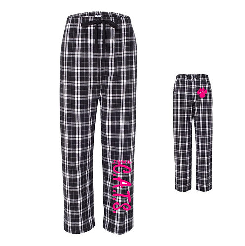 CATS Flannel Pants with pockets