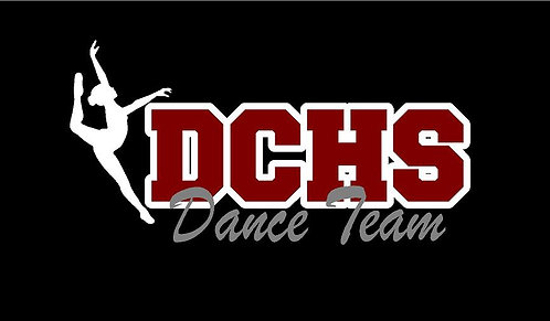 DCHS Dance Team Car Decal