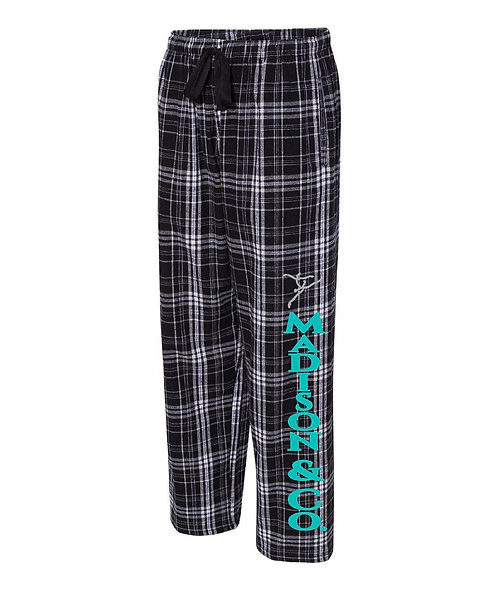 MCDS Flannel Pants Youth and Adult