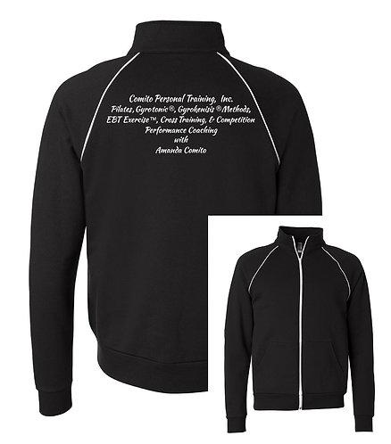 Comito Unisex Full Zip Jacket w/White Trim
